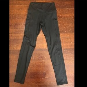 Aerie play pocket high waisted black leggings